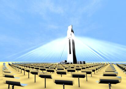 Das weltweit größte Solarkraftwerk