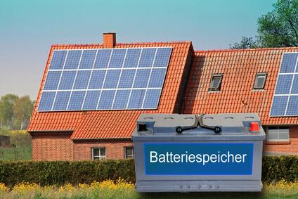 Batteriespeicher für Solarstrom