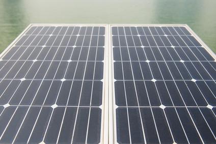 Die größte schwimmende Solaranlage Europas